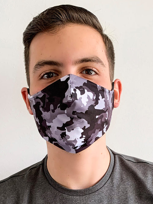 DARKCAMO REVERSIBLE FACE MASK