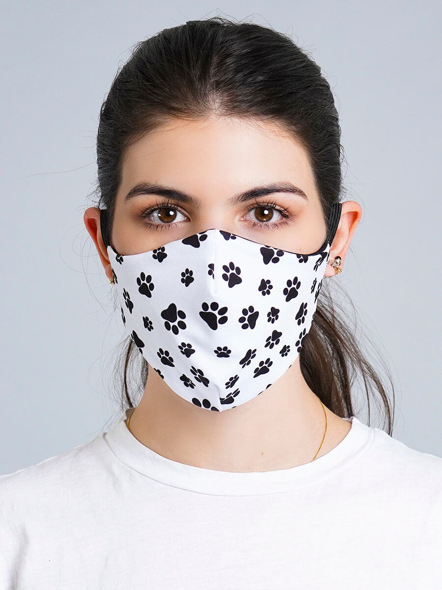 DOG LOVER REVERSIBLE FACE MASK