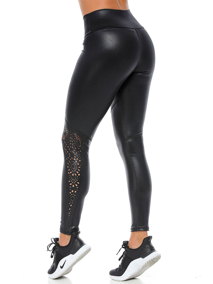 DONNA BLACK LEGGINGS