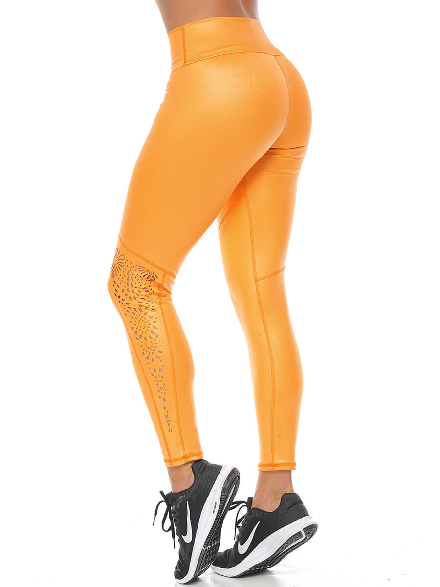 DONNA ORANGE LEGGINGS