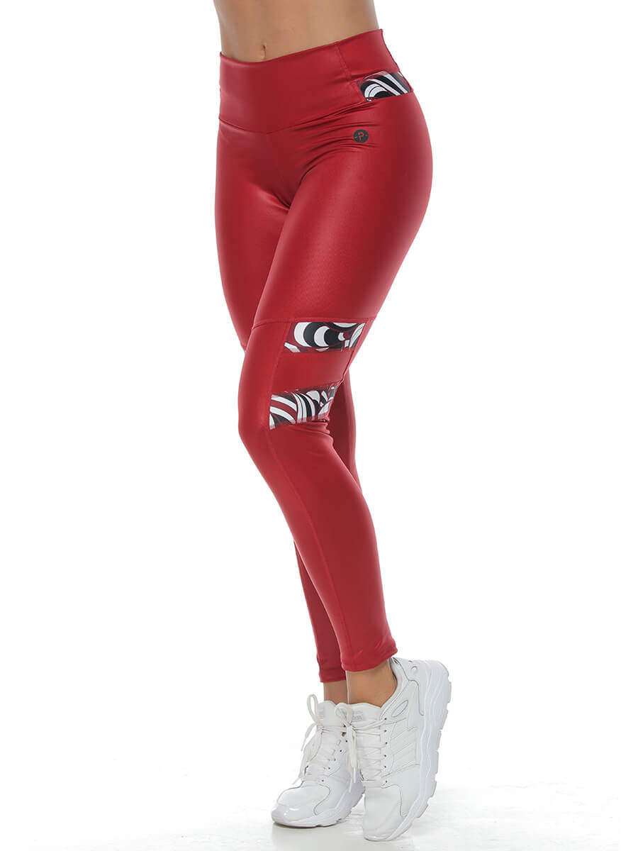 EBBA RED LEGGINGS