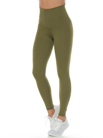 ARETHA ARMY GREEN LEGGINGS