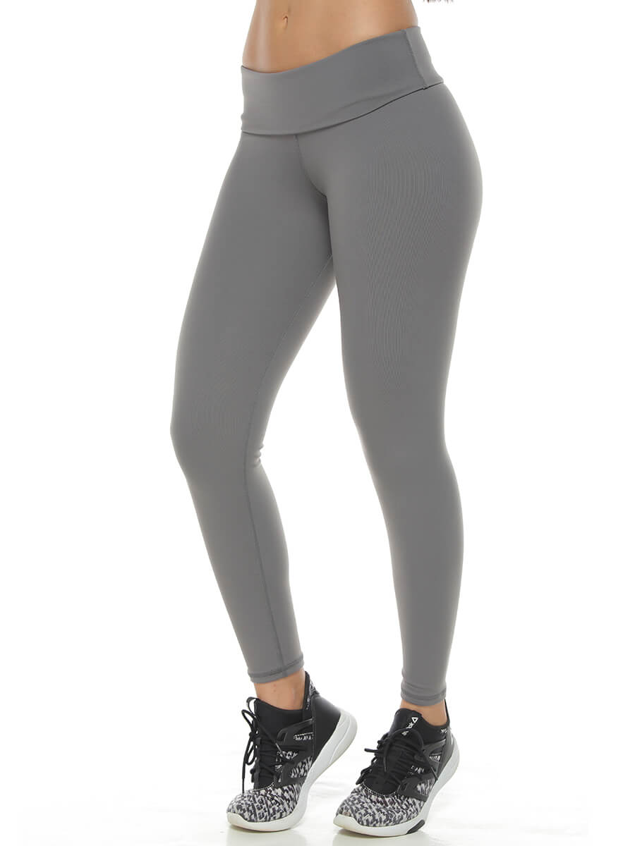 ELIXE GRAY LEGGINGS