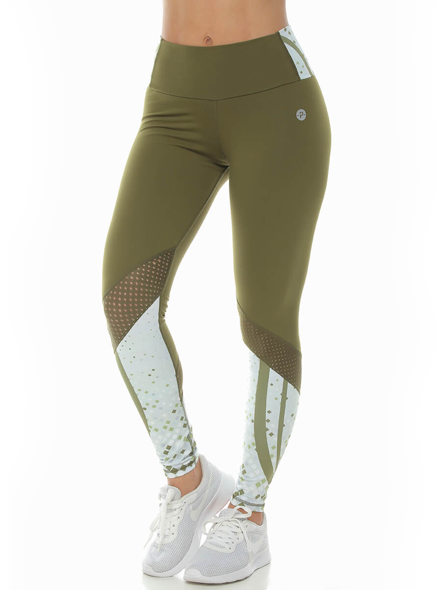 ELOISE ARMY GREEN LEGGINGS