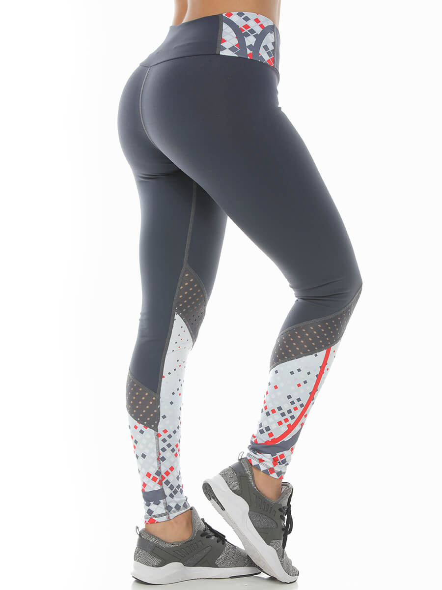 ELOISE GRAY LEGGINGS
