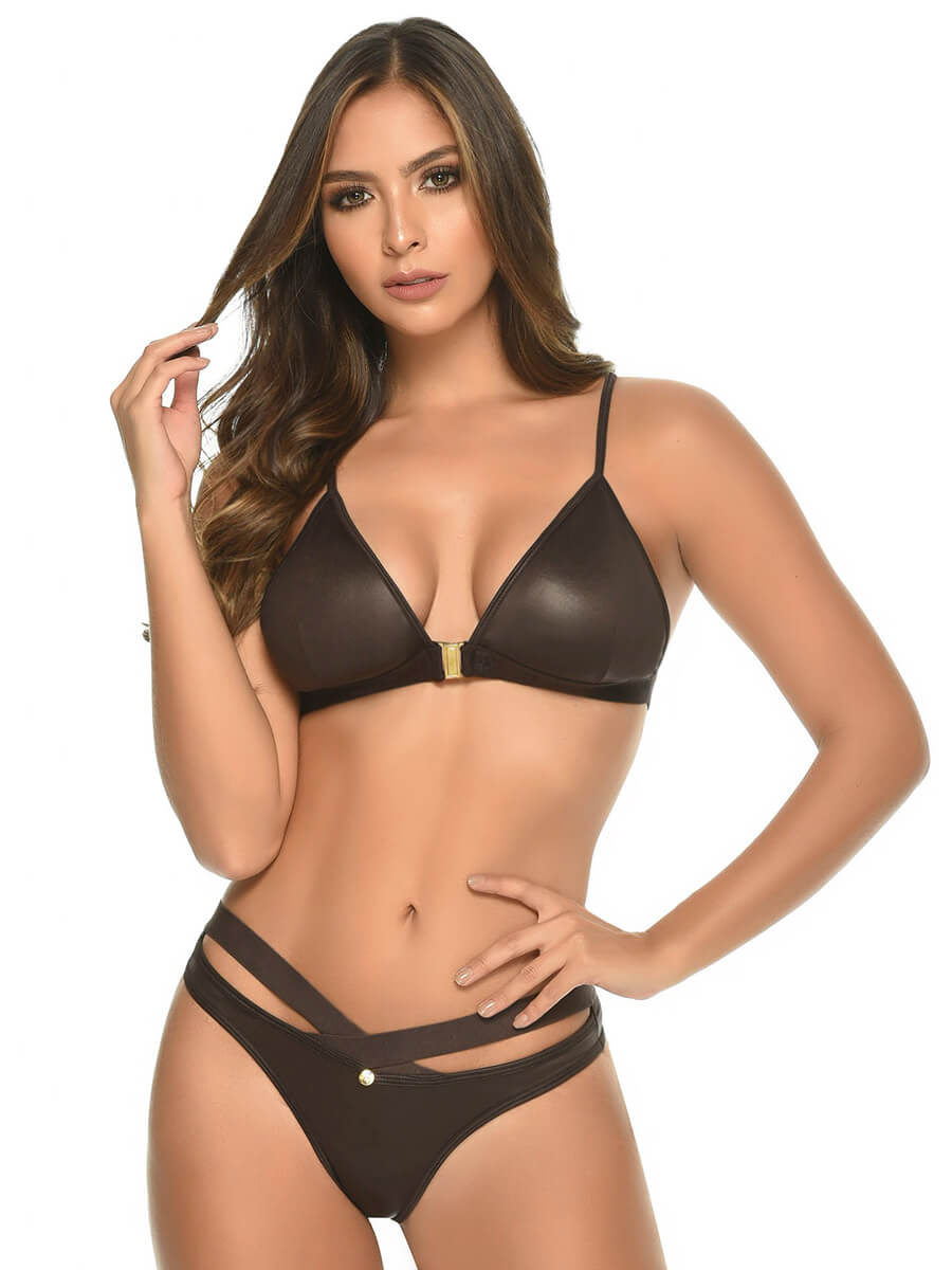 JUDIE BROWN BRA