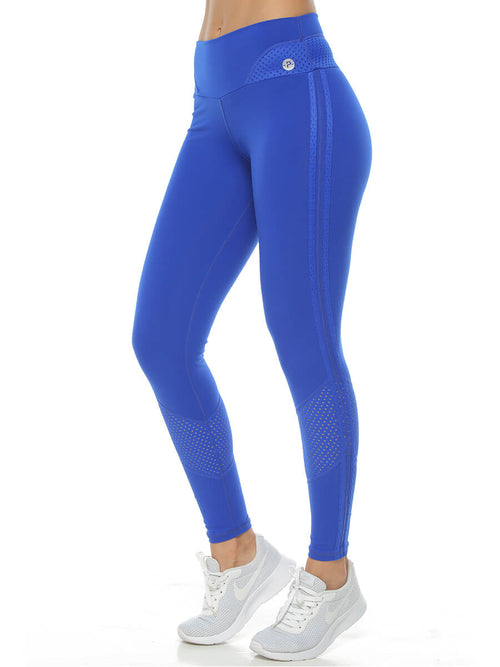KENZIA ELECTRIC BLUE LEGGINGS