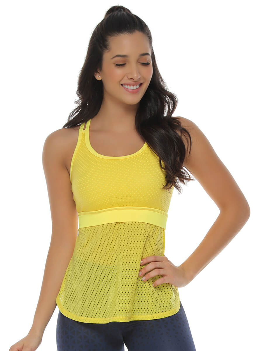 KIM YELLOW TANK TOP