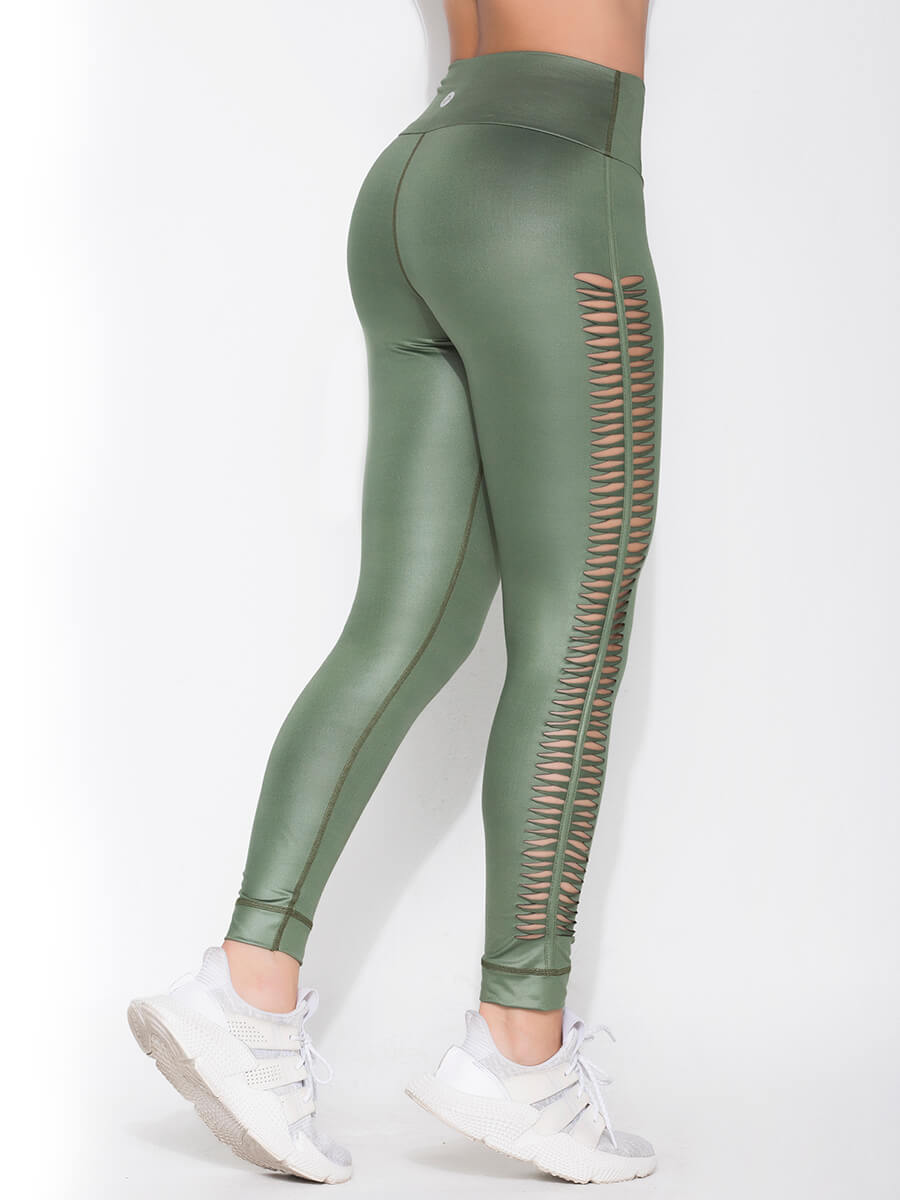 LIZZIE GREEN LEGGINGS