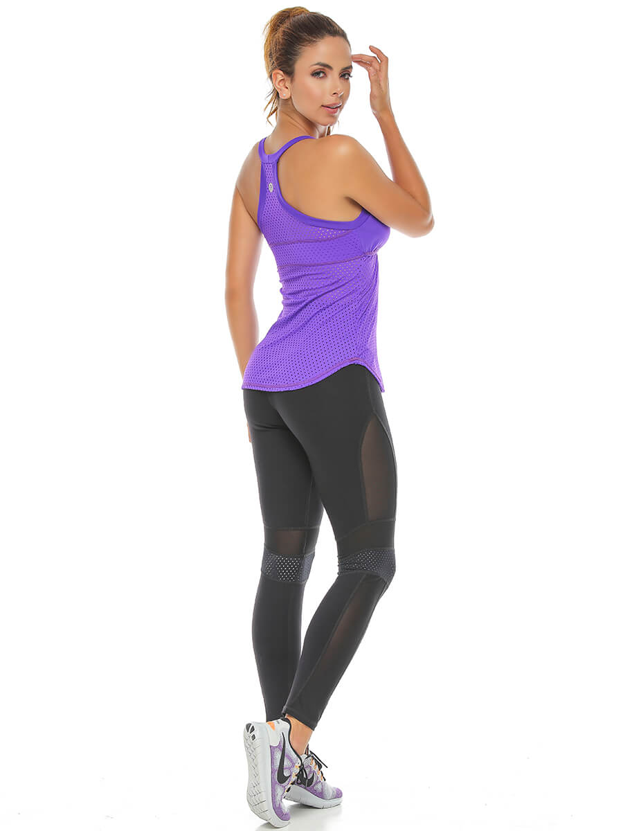 LISHA PURPLE TANK TOP