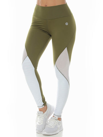 ELIXE BROWN LEGGINGS