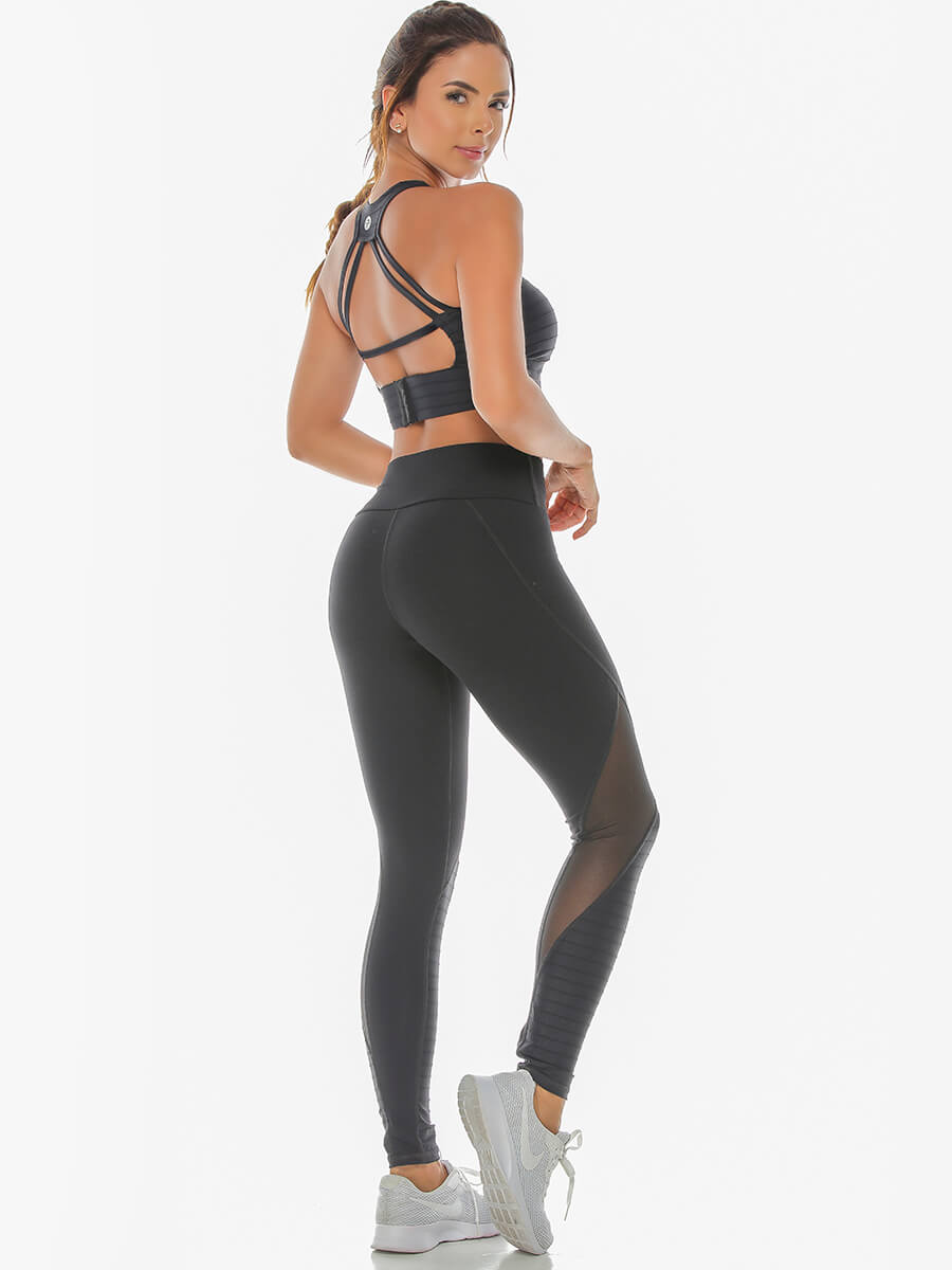 LORIE BLACK LEGGINGS