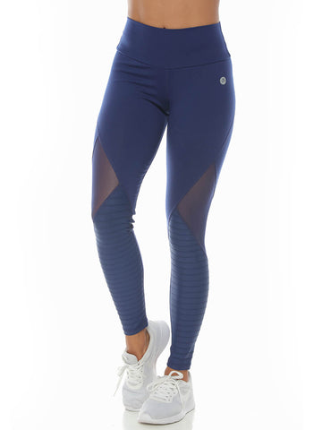 ALESHA ELECTRIC BLUE LEGGINGS