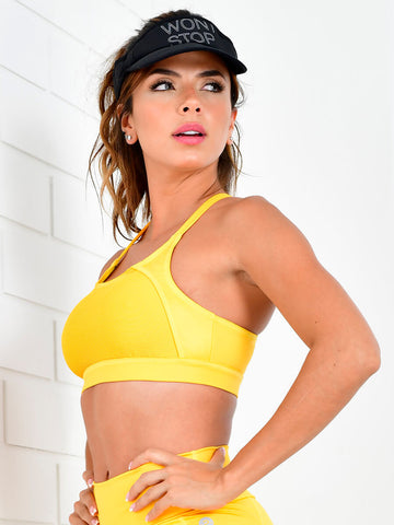 SOPHIA YELLOW TANK TOP