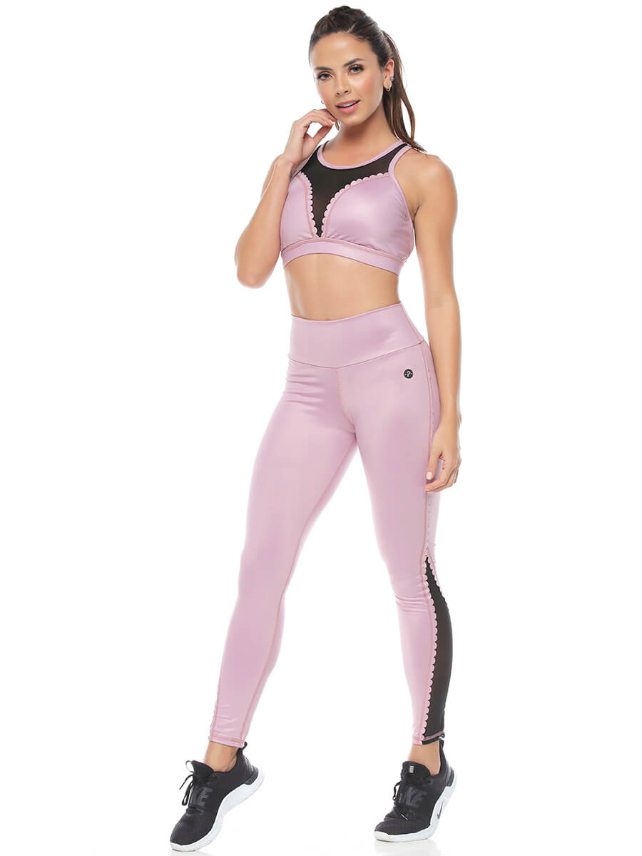 PAMELA LILAC LEGGINGS