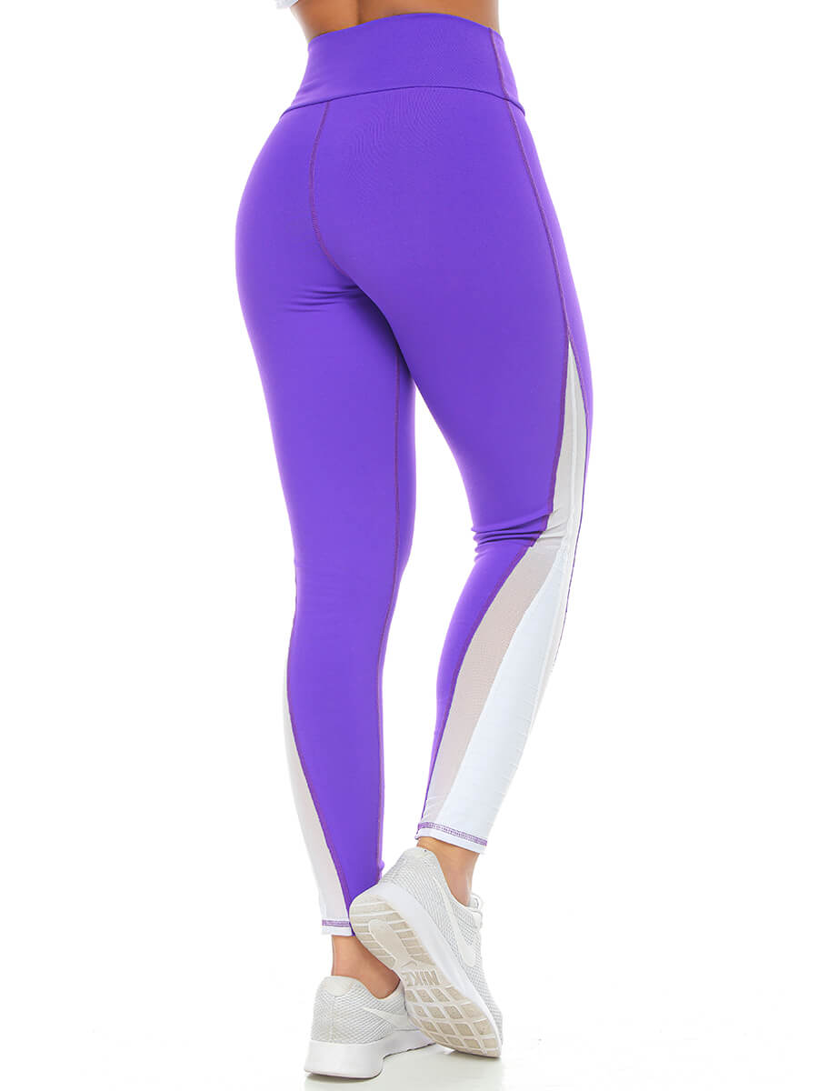 PAULINE PURPLE LEGGINGS