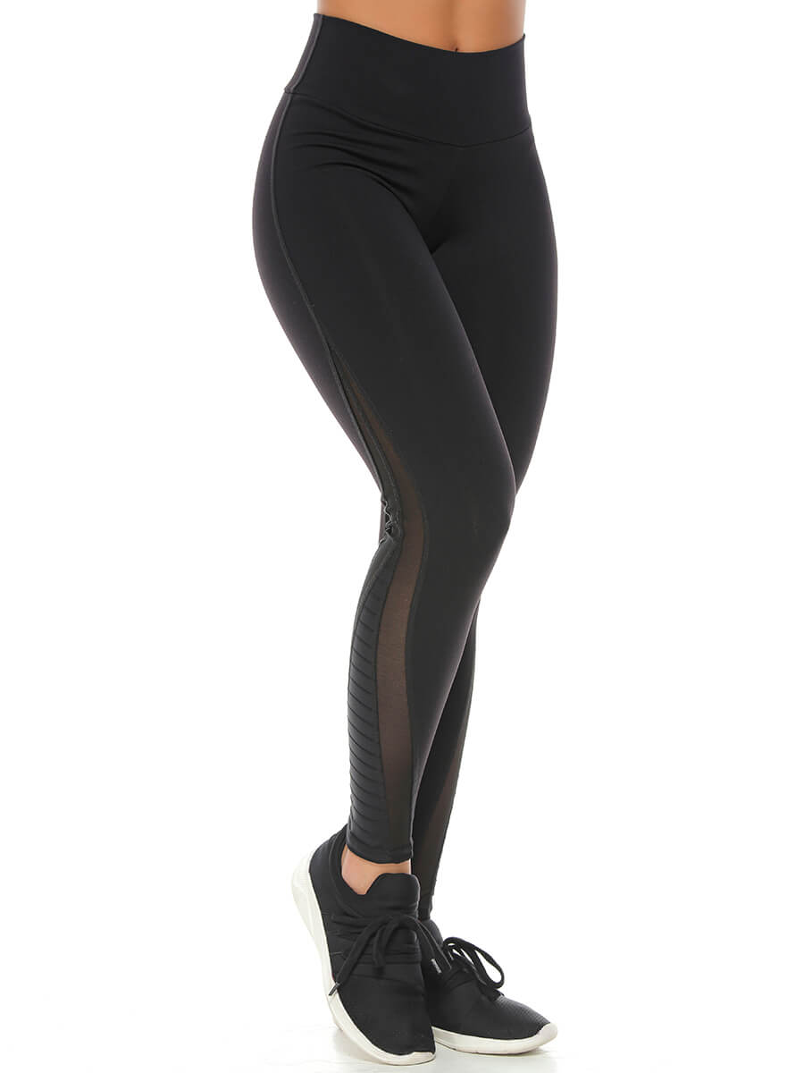 PAULINE BLACK LEGGINGS