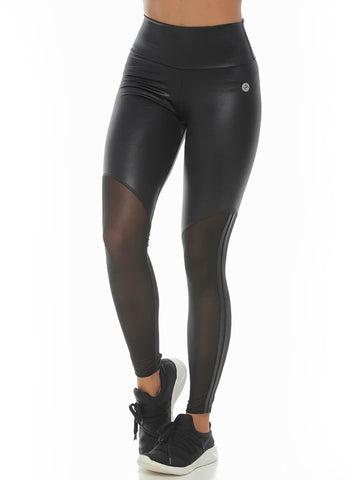 VICTORIA BLACK LEGGINGS