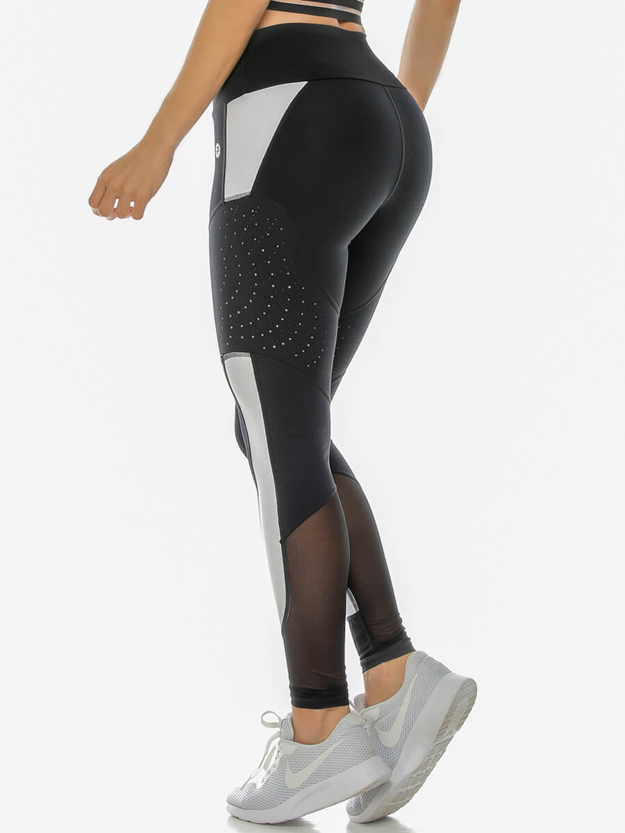 ROSIE BLACK/WHITE LEGGINGS