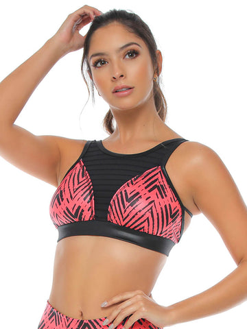 SKYLA ORANGE SPORTS BRA