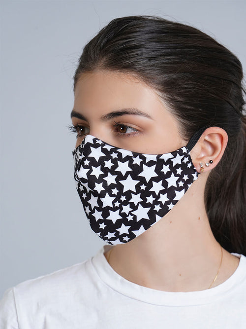 STARS REVERSIBLE FACE MASK