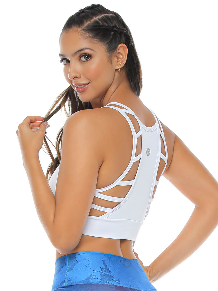 SUSAN WHITE SPORTS BRA