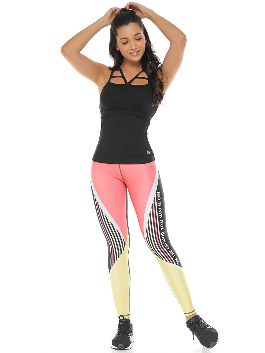 THELMA PRINTED LEGGINGS