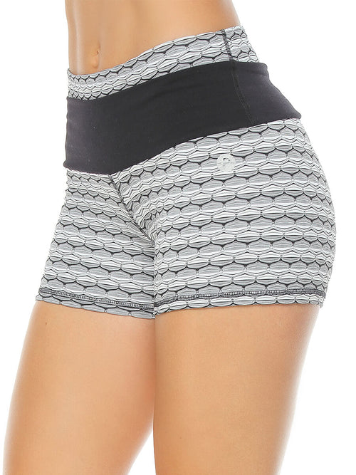 TERA BLACK AND WHITE SHORTS