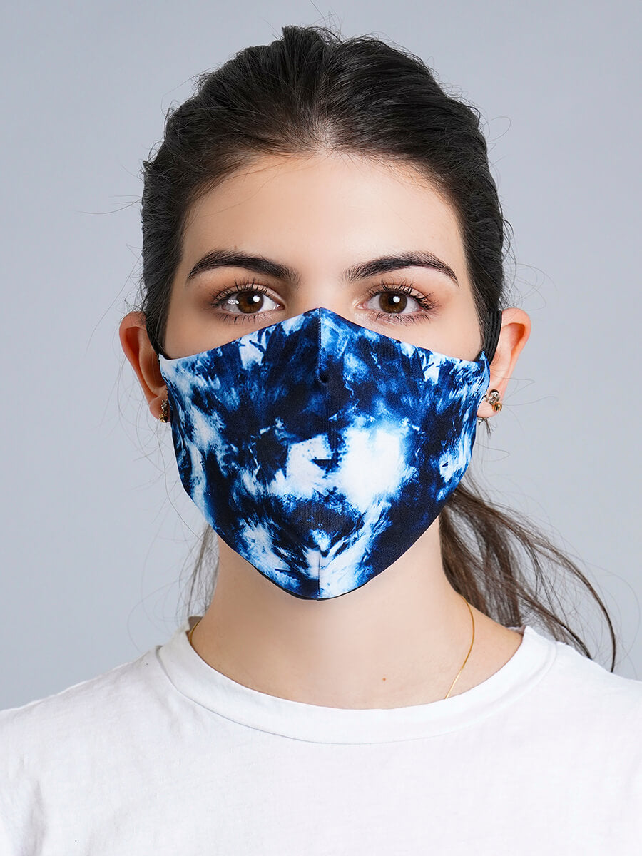 TIE DYE REVERSIBLE FACE MASK
