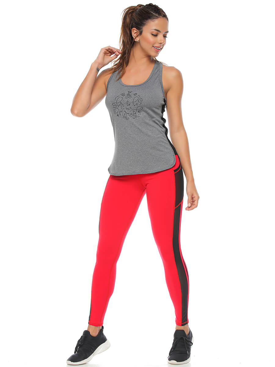 VIRGINIA RED LEGGINGS