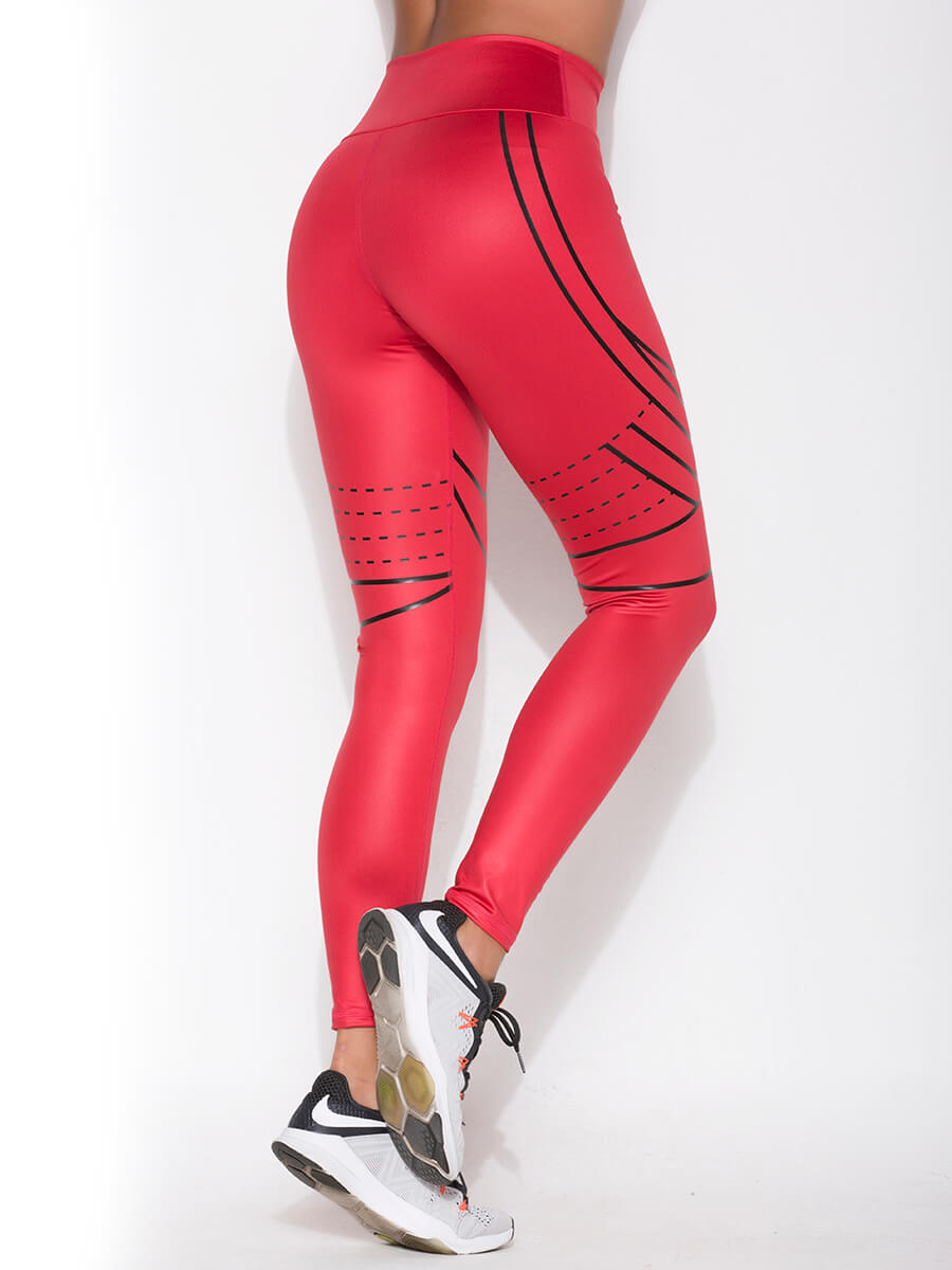 ZOE RED LEGGINGS