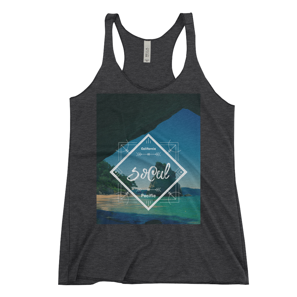SoCal Women's Tank by Space Is Black Beachwear