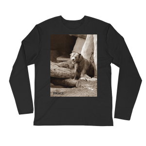 Bruce! Long Sleeve Fitted Crew