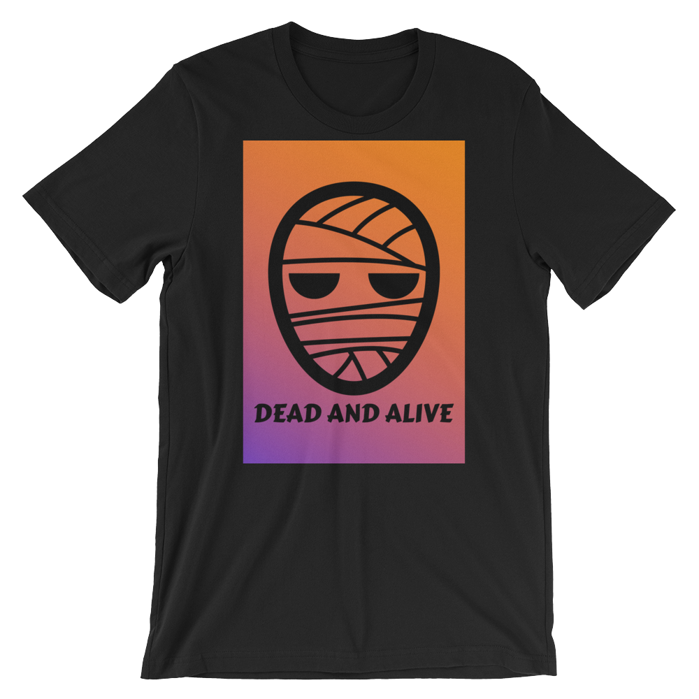 """Dead and Alive"" - Black - Streetwear by Space Is Black Apparel"