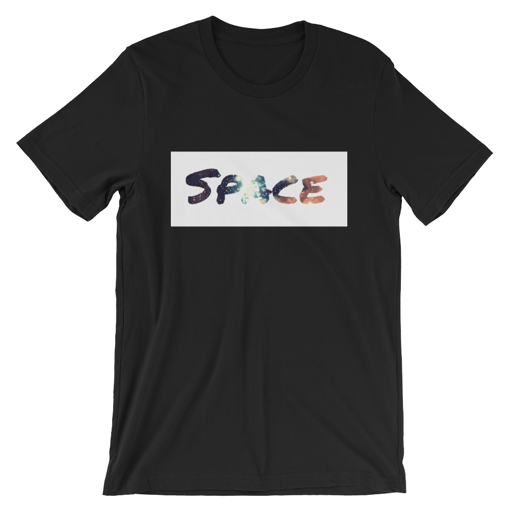 """SPACE"" - Black - Streetwear by Space Is Black Apparel"