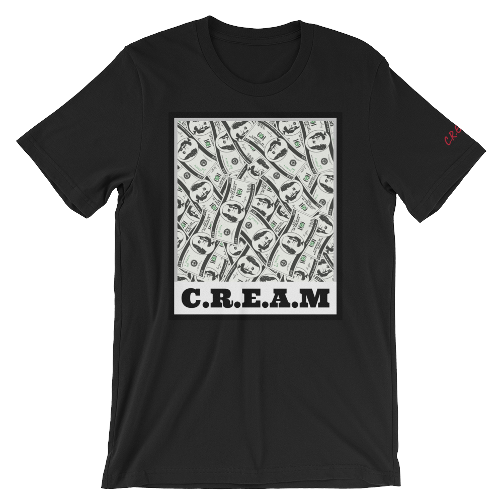 C.R.E.A.M - Black - Streetwear by Space Is Black Apparel