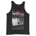 """Flamingo"" Tank Top - Black - Beachwear by Space Is Black Apparel"