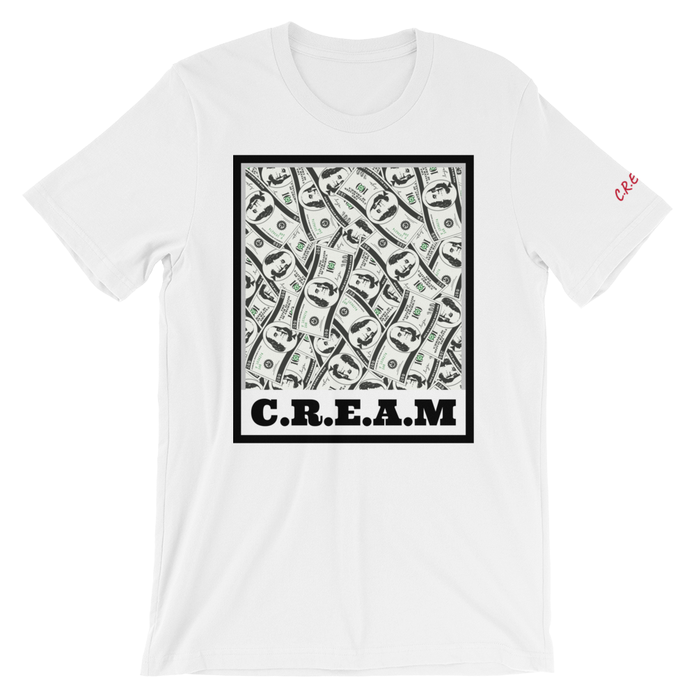 C.R.E.A.M - White - Streetwear by Space Is Black Apparel