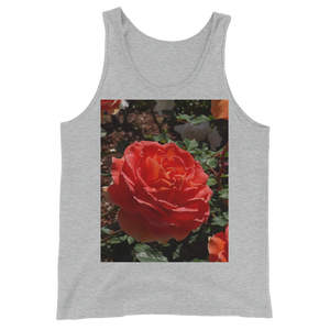 """Melon Res"" Tank Top - Athletic Heather - Beachwear by Space Is Black Apparel"