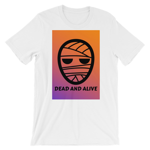 """Dead and Alive"" - White - Streetwear by Space Is Black Apparel"