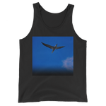 """Blue Bird"" Tank Top - Black - Beachwear by Space Is Black Apparel"