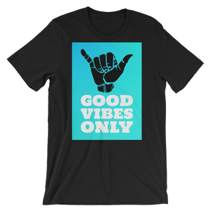 """Good Vibes Only"" - Black - Beachwear by Space Is Black Apparel"