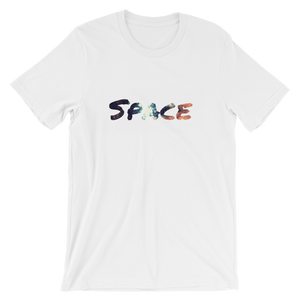 """SPACE"" - White - Streetwear by Space Is Black Apparel"