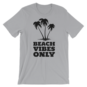 """Beach Vibes Only"" - Silver - Beachwear by Space Is Black Apparel"