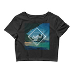 SoCal Women's Crop Tee by Space Is Black Beachwear