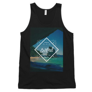 """SoCal"" Tank Top - Black - Beachwear by Space Is Black Apparel"