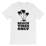 """Beach Vibes Only"" - White - Beachwear by Space Is Black Apparel"