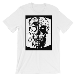 """ZOMBIE"" - White - Streetwear by Space Is Black Apparel"