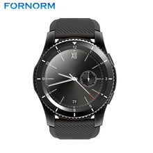 Buy FORNORM G8 smart watch mobile phone 3 mode Bluetooth V4.0 smart wrist sports bracelet mobile phone clock test sensor heart blood for $69.99
