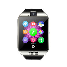 Buy FORNORM Bluetooth Smart Watch Q18 Pedometer for Android Phone Support SIM SD Card Wristwatch Sport Watches Clock for Huawei for $28.99